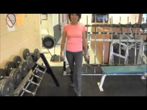 Imrpove Your Posture with Strength Training: Shoulder Shrugs with Dumbbells Image 1