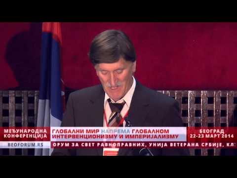 VLADIMIR KAPURALIN (CROATIA) - (Global Peace vs. Global Interventionism and Imperialism)