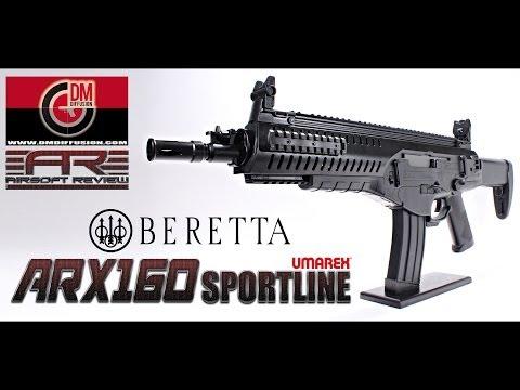 BERETTA ARX 160 UMAREX SPORTLINE / AIRSOFT REVIEW