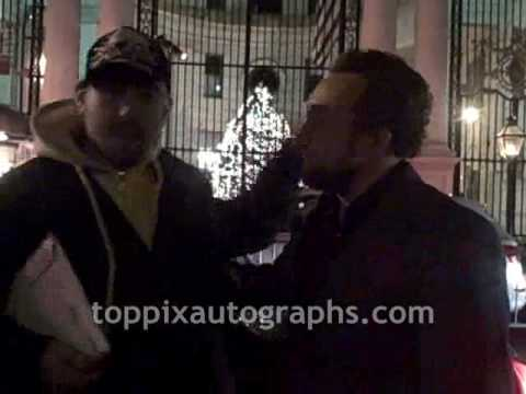 Eddie Marsan - Signing Autographs at 'Sherlock Holmes' Premiere Afterparty in New York City