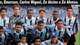 Grêmio 2x0 Portuguesa - 1996 - Brasileiro 1996 Final - Globo GRÊMIO CAMPEÃO