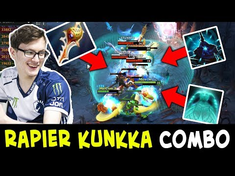 Miracle RAPIER Kunkka — insane COMBOS with Magnus