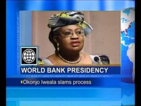 World Bank Presidency: Okonjo Iweala Slams Process