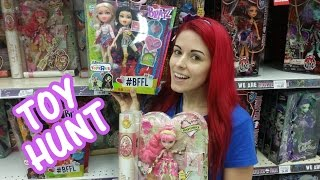 Toy Hunting FOUND NEW 17 Inch Monster High, Ever After High, Bratz Two Pack