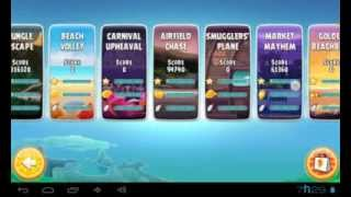 Angry Birds Rio Gameplay