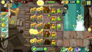 Pirate Seas Day 17 - Plants vs Zombie 2 Walkthrough