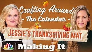 Thanksgiving Doormat Craft - Making It