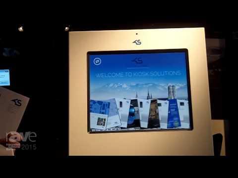 ISE 2015: Kiosk Solutions Shows KI19 All-Purpose Kiosk