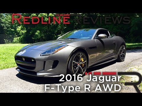 Redline Review: 2016 Jaguar F-Type R AWD