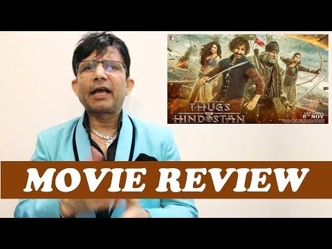 Thugs of Hindostan || Review by KRK || Bollywood Movie Reviews || Latest Reviews