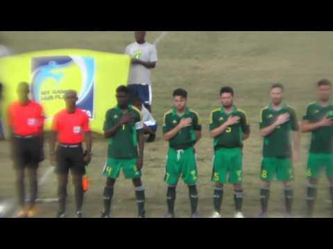 BVI V Dominica, Caribbean Cup, Saturday 26th March, 2016