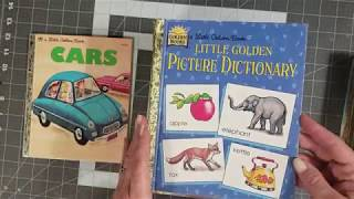 Little Golden books and a free gift with purchase!