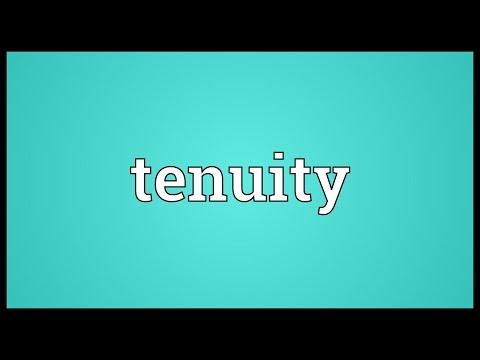 Header of tenuity