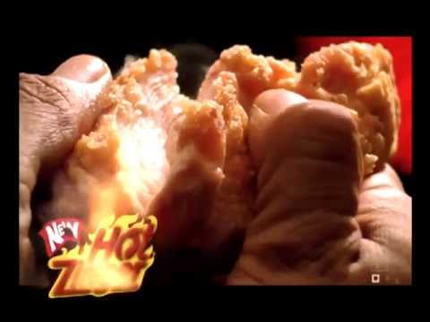Funny Ads : KFC Hot Zinger Commercial