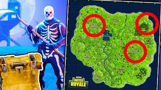 THE BEST PLACES TO FIND LEGENDARY LOOT!? l Fortnite Battle Royale