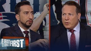 Eric Mangini & Nick disagree if Patriots should move on from Tom Brady | NFL | FIRST THINGS FIRST