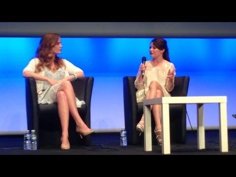 Rebecca Mader & Emilie de Ravin Q&A (Fairy Tales II) - part...
