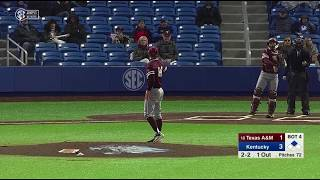 Baseball: Highlights | A&M 5, Kentucky 3