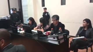 Caso Lima: Se suspende audiencia a petición de abogados defensores