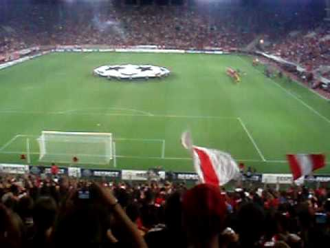 Olympiacos-sheriff Ymnos Champions League Apo Tin 7 video