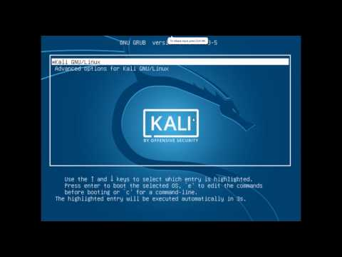 How to install kali linux 2.0  and hack anything in vmware workstation fully describe