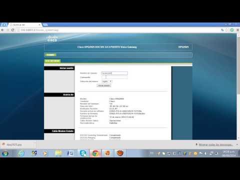 como configurar router cisco de claro 2014 dpq3925