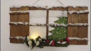 Download Lagu Una graziosa finestra natalizia riciclando le cassette per la frutta Gratis STAFABAND