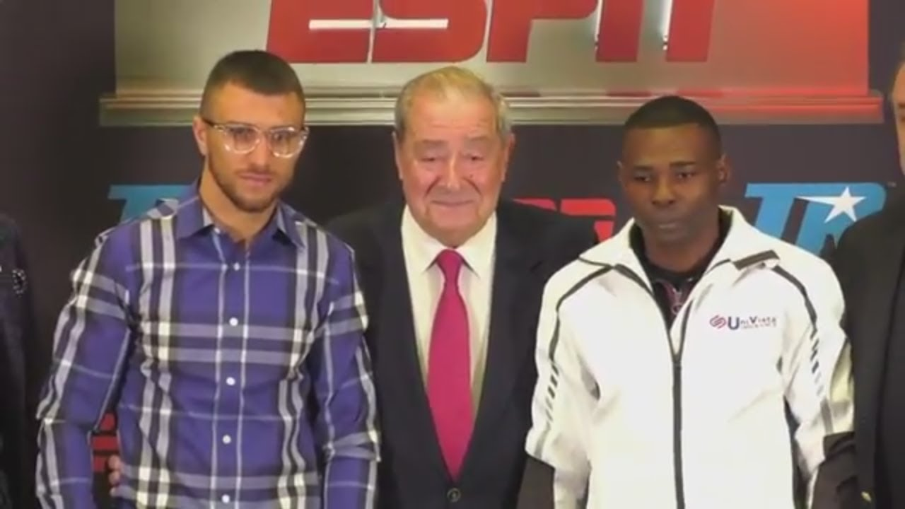 Vasyl Lomachenko vs. Guillermo Rigondeaux official news conference | ESPN