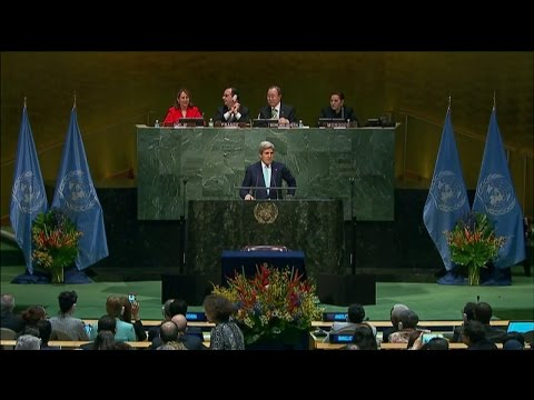 Signing Ceremony of the Paris Agreement on Climate Change