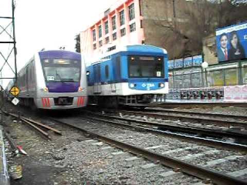 TBA Línea Sarmiento - Compilado de trenes doble piso - Ferrosaurio (Almagestus)