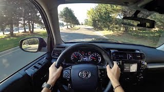 2017 Toyota 4Runner TRD Off-Road - POV City Drive (Binaural Audio)