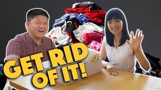 Marie Kondo helps us get TIDY! - Lunch Break!