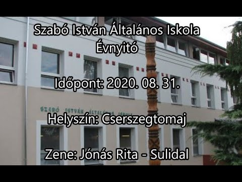 2020/2021. évi Tanévnyitó a Szabó István Általános Iskolában Cserszegtomajon