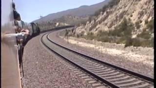 Santa Fe 3751 - Onboard the Grand Canyon Limited 2012