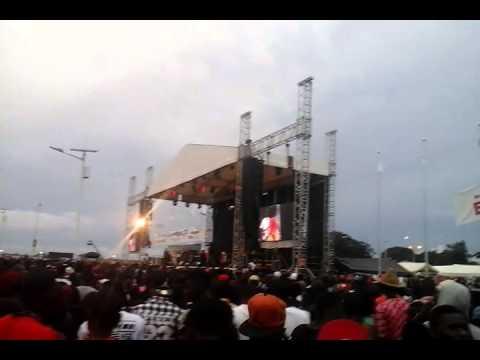 STYLE-J au Concert de Wizkid à Conakry