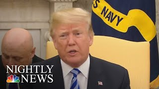 President Donald Trump Addresses North Korea's Threat To Call Off Summit | NBC Nightly News