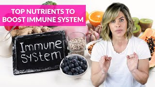 Foods to help boost immune system and fight infection