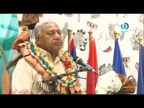 Fiji One News on Regional Workshop on PIDF Agreement 6th May 2015