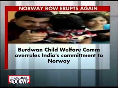 Burdwan child panel grants Norway kids' custody to mother