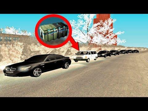 БРИГАДА СОПРОВОЖДАЕТ КЛИЕНТОВ С ЦЕННЫМ ГРУЗОМ! GTA:CRMP