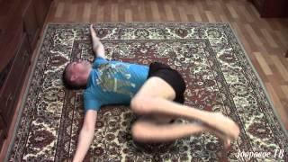 Как вылечить боль в спине (тренируем боковые мышцы спины и живота)