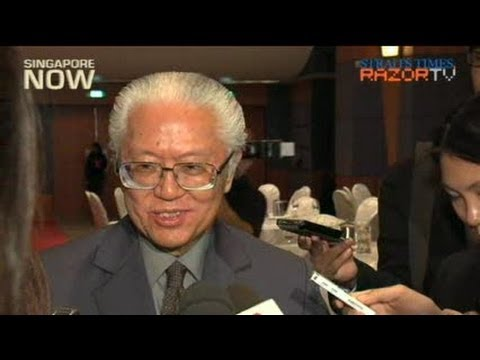 Dr Tony Tan: Singapore's economy may be threatened
