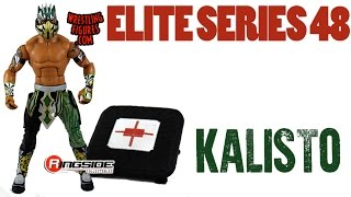 WWE FIGURE INSIDER: Kalisto  - WWE Elite Series 48 WWE Toy Wrestling Action Figure
