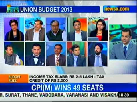 Budget 2013-14: No change in tax slabs