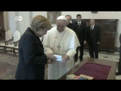 Merkel in Private Audience with Francis I | Journal