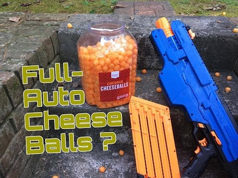 A Really Cheesy Nerf Mod 2.0! (Can The Rival Khaos Throw Full Auto Cheese?)