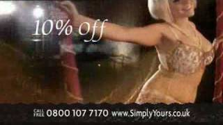 Simply Yours TV advert