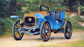 1910 Zebra Type A Runabout