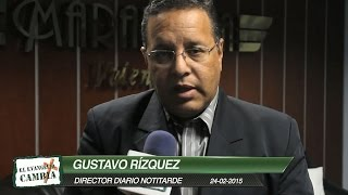Gustavo Rízquez Director del Diario Notitarde visitó la Iglesia Maranatha Venezuela