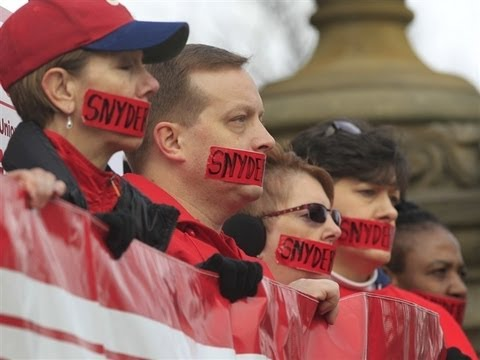 """GOP Pushes """"Right to Work"""" in Michigan: Why Now?"""